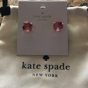 Kate Spade Red Gumdrop Earrings